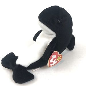 Ty beanie baby Waves the whale